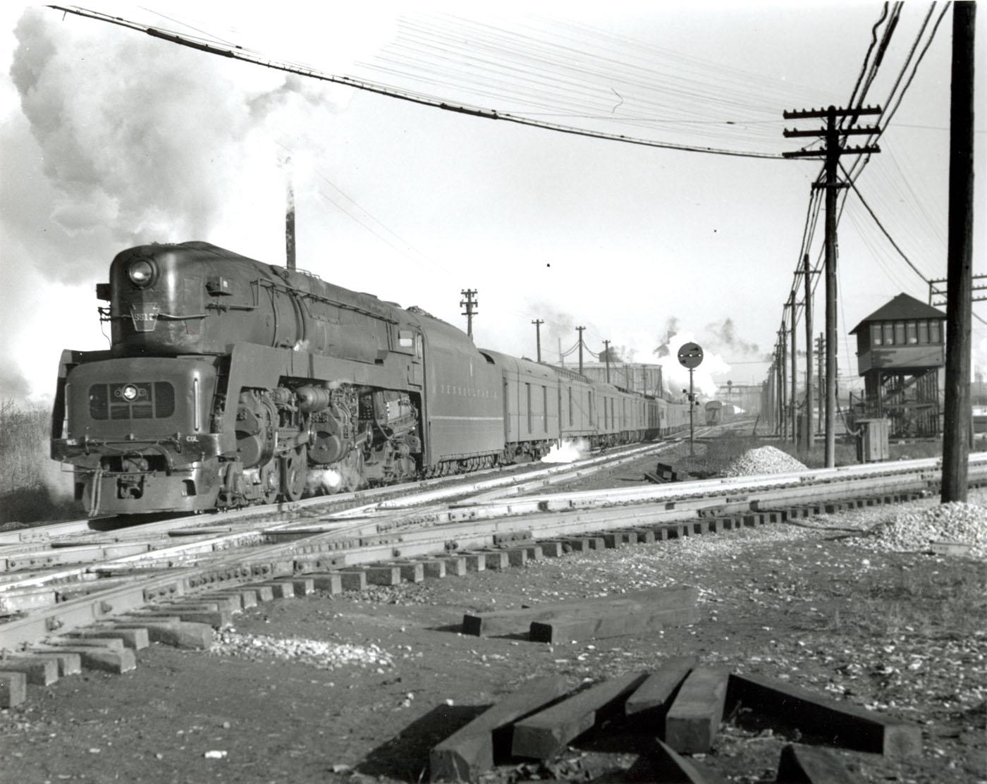 Image result for pennsylvania railroad t1 steam locomotive